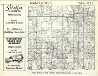 Manchester T4S-R3E, Washtenaw County 1957